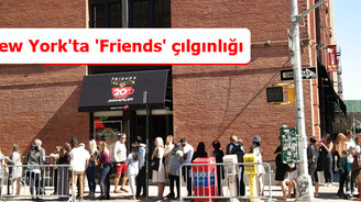 New York'ta 'Friends' çılgınlığı