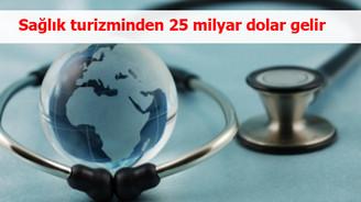 Sağlık turizminden 25 milyar dolar gelir sağlanacak