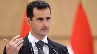 Esad: Rusya'ya Suriye'nin birliği için gidiyoruz