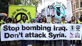 Londra 'savaşa hayır' dedi