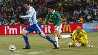 Arjantin, Almanya'nın rakibi oldu