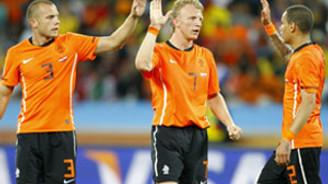Hollanda çeyrek finalde
