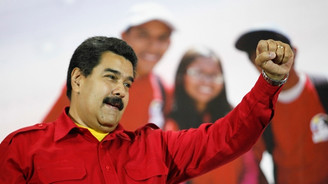 Venezuela topun ağzında