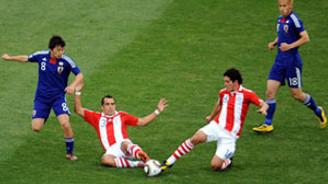 Paraguay penaltılarla çeyrek finale çıktı