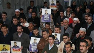 """İstanbul'da """"Yasin Börü"""" protestosu"""