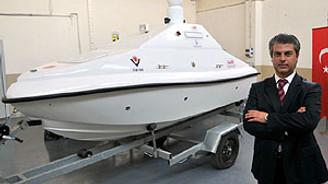 Yerli, insansız deniz aracı göreve hazır