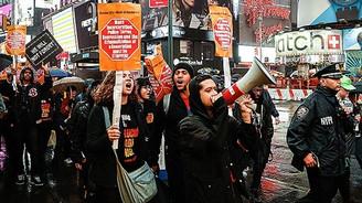 ABD'de polis protestoları devam ediyor