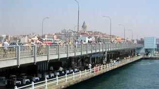 Yeni Galata köprüsü salı kapalı