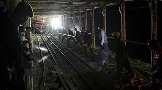 Madendeki su seviyesi azalıyor