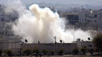 IŞİD yine Kobani'yi vurdu