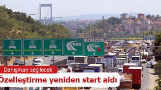 ÖİB, köprü ve otoyollar için danışman seçecek