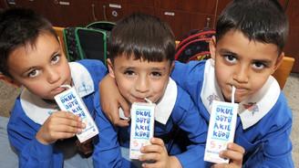 Okul sütü üreticilere de yarar sağlayacak