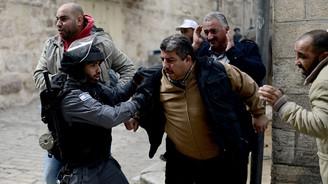 İsrail askerleri 47 yıl sonra Mescid-i Aksa'ya girdi