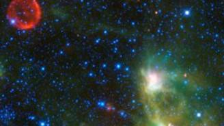 NASA, dev yıldızın doğuşunu görüntüledi