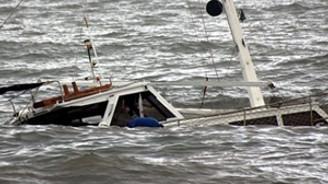 Yine kaçak teknesi, yine aynı son!