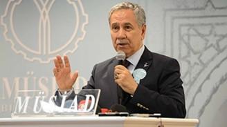 Arınç, yeni parti DGP'ye yüklendi