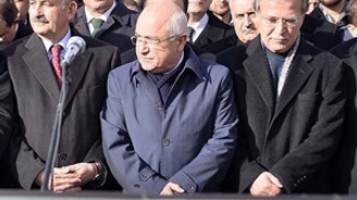 AK Parti'li Şahin'in eşi toprağa verildi