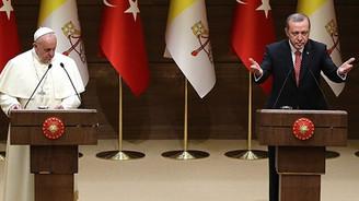 Papa Franciscus ve Erdoğan'dan ortak mesajlar