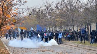 Ankara'da öğrencilere gazlı müdahale