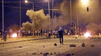 Diyarbakır'da olaylı IŞİD protestosu
