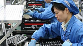 Çin'de imalat sanayi endeksi 0,5 puan arttı