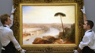 'Romantik'lerin en pahalı tablosu oldu