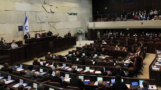 İsrail'de parlamento feshedildi