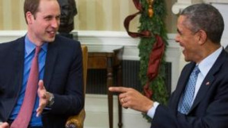 Prens William, Obama ile görüştü