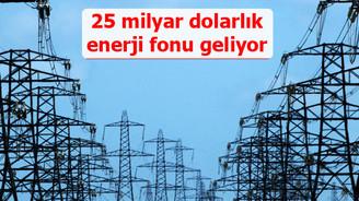 25 milyar dolar büyüklüğe ulaşacak enerji fonu geliyor