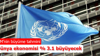 BM: Dünya ekonomisi % 3.1 büyüyecek