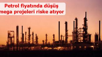 Petrol fiyatında düşüş mega projeleri riske atıyor