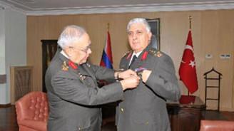 Jandarma'da sessiz devir teslim töreni