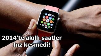 2014'te akıllı saatler hız kesmedi!