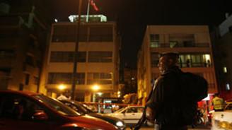 Türk Büyükelçiliğinde rehin alma girişimi
