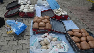 164 kilo uyuşturucu madde ele geçirildi