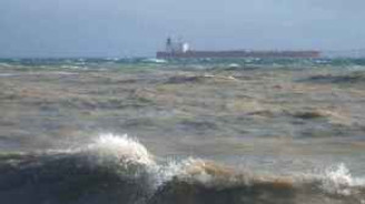 Poyraz, Marmara'da denizyolunu kapattı