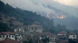 Bergama'daki yangın kontrol altına alındı