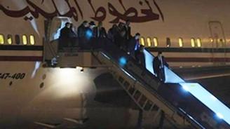5 uçakla Türkiye'ye geldi