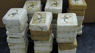 80 milyon euroluk kokain ele geçirildi