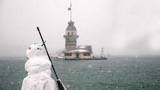 İstanbul'da kar yağışı bu gece sona erecek