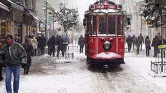 İstanbul'da kar alarmı!
