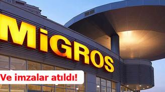 Migros'ta imzalar atıldı