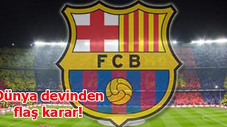 Barcelona'dan flaş karar!