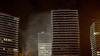 Zorlu Center'da çıkan yangında 1 kişi öldü