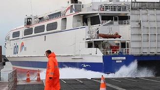 Deniz ve hava ulaşımına lodos engeli devam ediyor