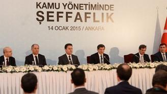 Başbakan, 'Kamuda Şeffaflık Paketi'ni açıkladı