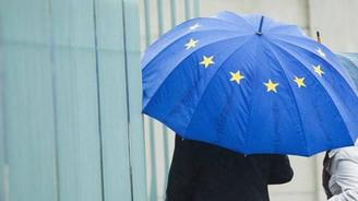 Euro Bölgesi'nde yıllık enflasyon negatif seviyede