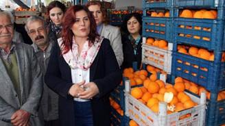 Üreticinin elinde kalan 52 ton portakalı satın aldı