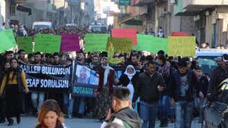 Silopi'de Cizre protestosu
