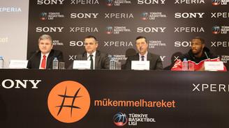 Sony, basketbolun resmi sponsoru oldu